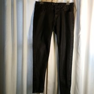 Denim - Zara Basic Dept. Black coated jeans